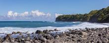 Panoramic View Of Rocky Beach ...