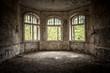 canvas print picture - Heilstätte - Lost Place