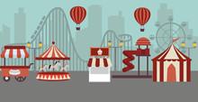 Amusement Park Landscape Conce...