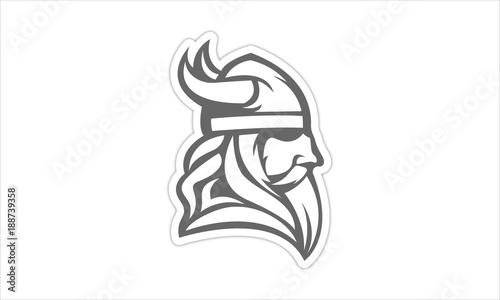 Viking Logo Canvas Print