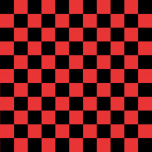 Black And Red Checkered Background
