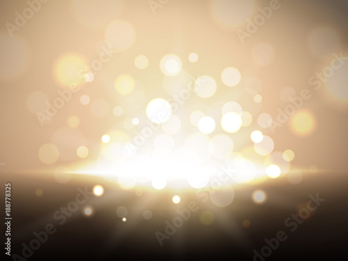 Valokuva  Golden glittering background