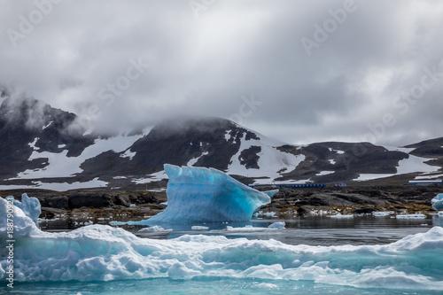 Deurstickers Antarctica Eisberg in Grönland