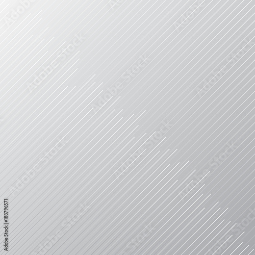 Fotomural Abstract minimal design stripe and diagonal lines pattern on gray and white background and texture