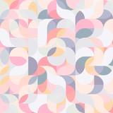 Abstrakcjonistyczny wektorowy kolorowy geometryczny harmonicznej fala tło - 188799155