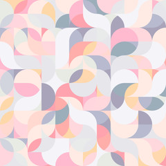 Abstrakcjonistyczny wektorowy kolorowy geometryczny harmonicznej fala tło