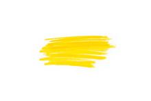 Hand Drawn Yellow Highlighter ...