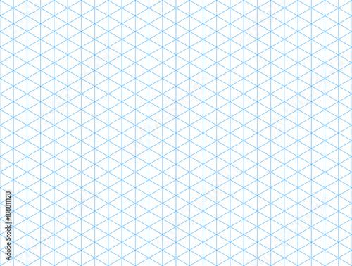 Obraz Seamless isometric blue grid backdrop - fototapety do salonu