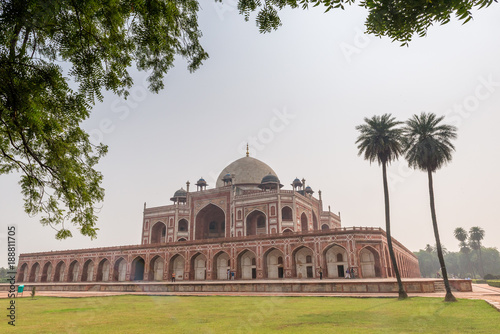 Humayuns Tomb in Delhi, India