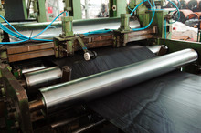 The Process Of Rolling Rubber