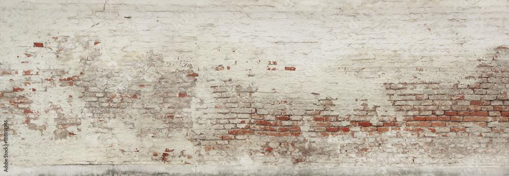 Fototapety, obrazy: Alte Ziegelmauer