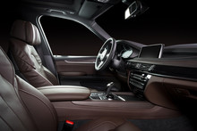 Modern Luxury Car Interior - S...