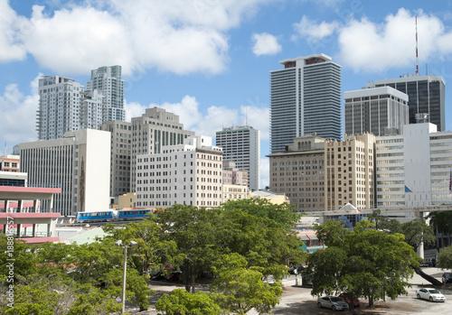 Miami Downtown Skyline © Ramunas