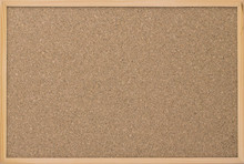 Cork Board Wood Surface. Cork Board Background. Cork Table. Close Up Background And Texture Of Cork Board Wood Surface, Nature Product Industrial
