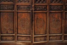 Detail Old Chinese Door