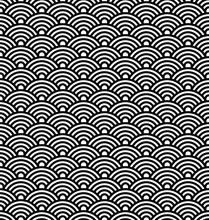 Japanese Vector Pattern, Asian...