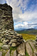 Stone Cairn On Thornthwaite Crag