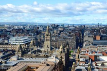 The Skyline Of Glasgow City Ce...