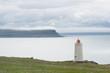 Küsten-Landschaft Vatnsnes - Halbinsel mit Leuchtturm / Nord-Island