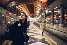 Female Traveler Searching For ...