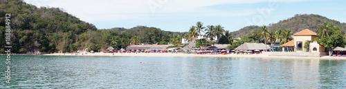 Photo Panorama of Beach resorts