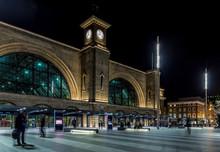 Kings Cross Station In The Nig...