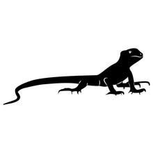 Vector Image Of Silhouette Of ...