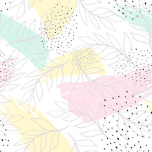 Creative Universal Artistic Background. Hand Drawn Textures. Trendy Graphic Design For Banner, Poster, Card, Cover, Invitation, Placard, Brochure Or Header.