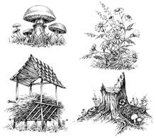 Forest Design Elements