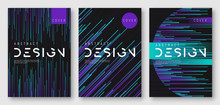 Abstract Gradient Futuristic G...