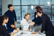 Business People Handshake Greeting Deal and Agreement Concept