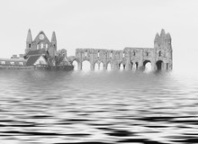 Whitby Abbey Floods