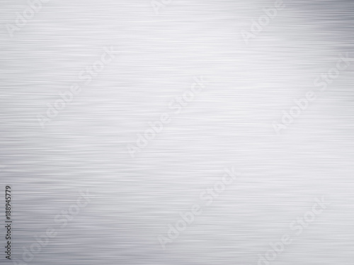 Türaufkleber Metall Wide silver metallic aluminum industrial textured background