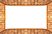 Bamboo Frame Weave Texture On ...