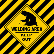 Industrial Symbol - Welding Area