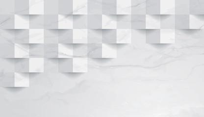 FototapetaWhite marble texture background.
