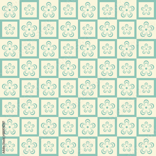 Photo sur Aluminium Art abstrait Vector flower seamless pattern background. texture for backgrounds. seamless texture for wallpapers, textile, wrapping. Eps 10.