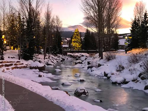 Colorado Ski Town Breckenridge Fototapet