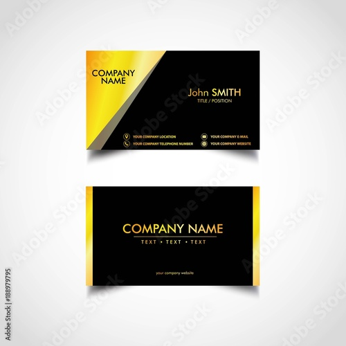 Golden business card template vector illustration eps file buy golden business card template vector illustration eps file cheaphphosting Image collections