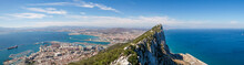 Rock Of Gibraltar - Panoramic ...