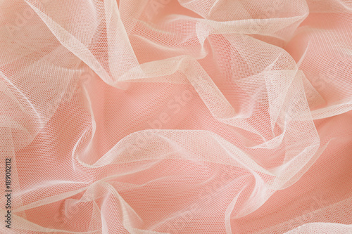 Fotografie, Obraz  background with transparent organza cloth texture