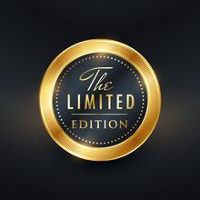 Limited Edition Label Design V...