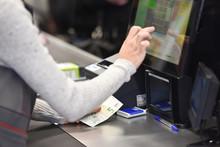 Caisse Travail Argent Euro Cash