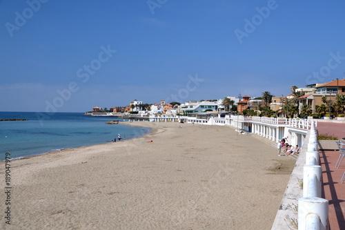 The Beautiful Beach Of Santa Marinella Close To Rome Italy Buy