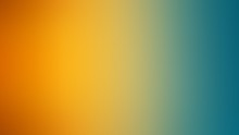 Abstract Gradient Blur Background Orange And Green Color