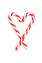 Heart Made Of Candy Canes