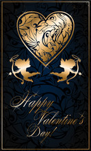 Greetings With Valentine's Day...