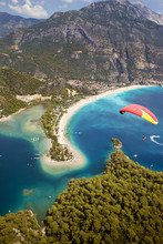 Paragliding In Oludeniz, Fethi...