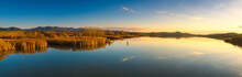 Tuscany, Santa Luce Lake Panor...