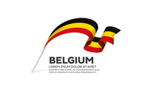 Belgium Flag Background